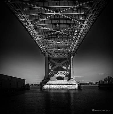 Ben Franklin Photograph - The Bridge by Marvin Spates