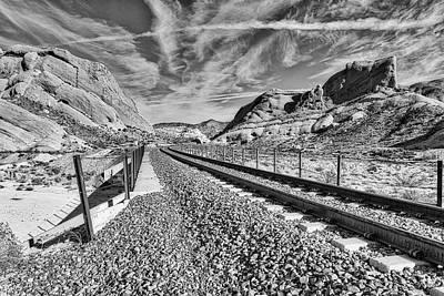 Photograph - The Bridge Never Crossed by Jim Thompson