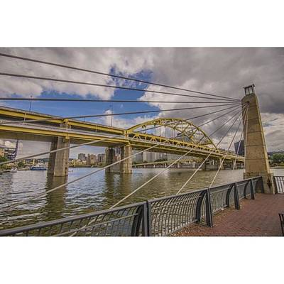 Skyscraper Wall Art - Photograph - The Bridge. No Not Mc Shan Aka Queens by David Haskett II