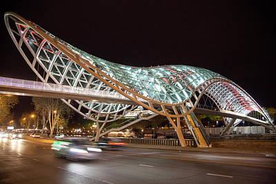 Photograph - The Bridge Of Peace by Ramunas Bruzas