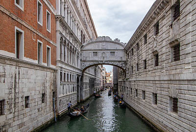 Photograph - The Bridge Of Sighs by Carolyn Derstine