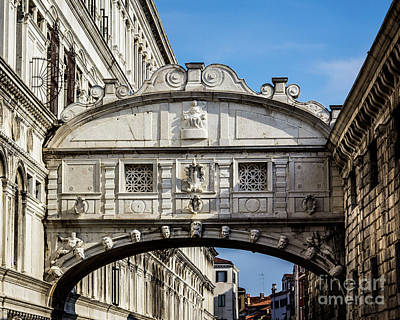 Photograph - The Bridge Of Sighs by Perry Webster