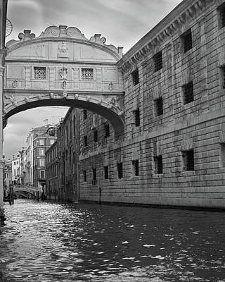 Photograph - The Bridge Of Sighs, Venice, Italy by Richard Goodrich