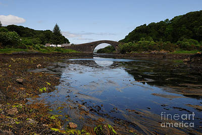 Atlantic Photograph - The Bridge Over The Atlantic by Nichola Denny