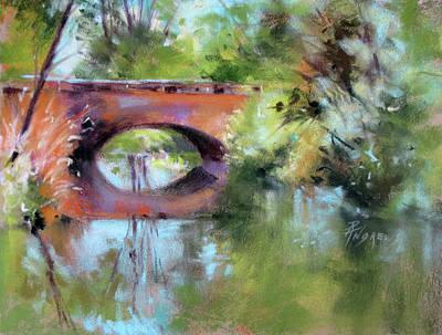 Painting - The Bridge, Saint Germaine by Rae Andrews