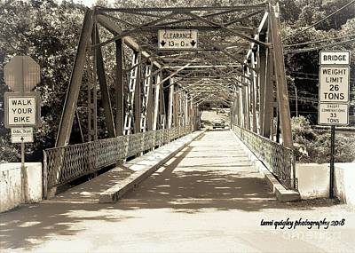 Photograph - The Bridge That Carried You Over by Tami Quigley