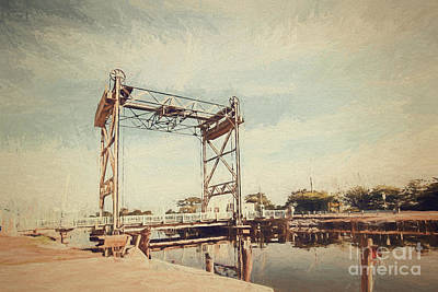Photograph - The Bridge To Hopedale- Digital Painting by Scott Pellegrin