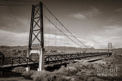 Photograph - The Bridge To Nowhere by Robert Bales