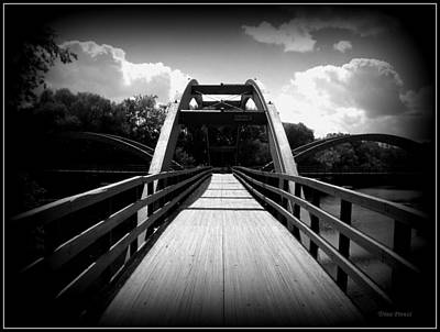 The Bridge Art Print by Trina Prenzi