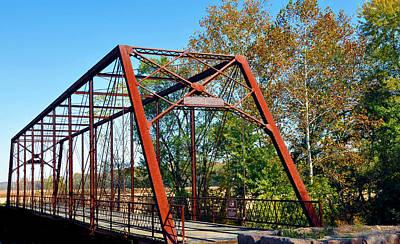The Bridgetone Bridge Art Print by Brittany H