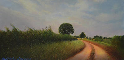 Painting - The Brighter Road Ahead by Blue Sky