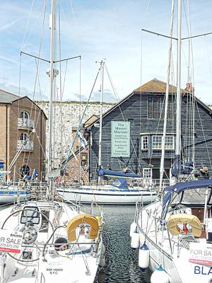 Photograph - The Master Mariner At Brighton Marina by Dorothy Berry-Lound