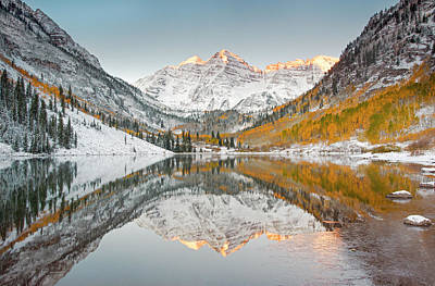 Photograph - The Brink Of Winter by Robbie George