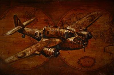 Painting - The Bristol Beaufort I by Jean Cormier