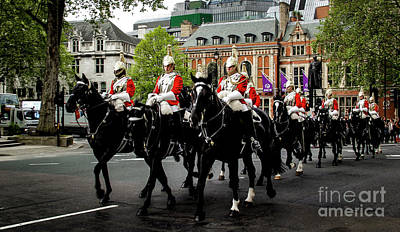 Photograph - The British Cavalry by Marina McLain