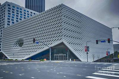 Photograph - The Broad Museum by David Bearden