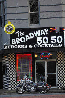Photograph - The Broadway 50 50 by Jill Reger