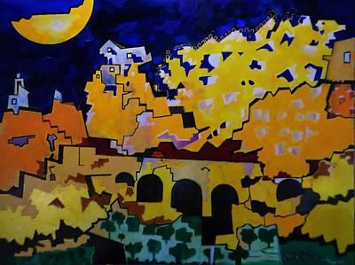 Painting - The Broken Bridge by Adalardo Nunciato  Santiago