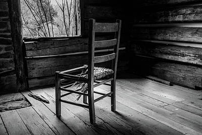 Photograph - The Broken Chair by Doug Camara