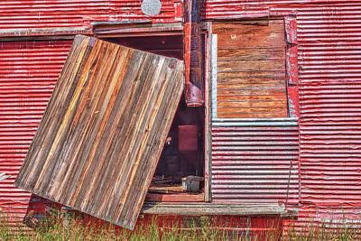 Photograph - The Broken Door by Richard J Cassato