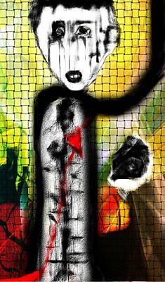 The Broken Heart Art Print