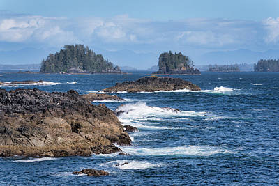 Photograph - The Broken Islands by Keith Boone