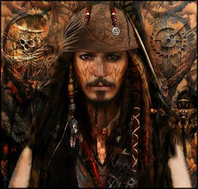 The Brother Of Jack Sparrow Original by Daniel  Arrhakis