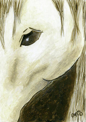 Painting - The Brown Horse by Stephanie Agliano