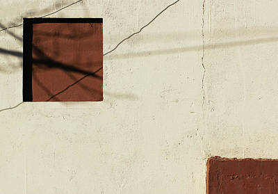 Photograph - The Brown Square by Prakash Ghai
