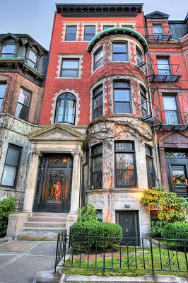 The Brownstone  Art Print by JC Findley