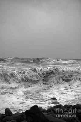 Photograph - The Brutal Sea by Clayton Bastiani