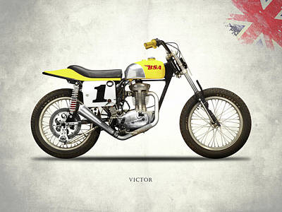 The Bsa 441 Victor Art Print