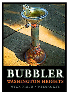 Water Fountain Digital Art - The Bubbler by Geoff Strehlow