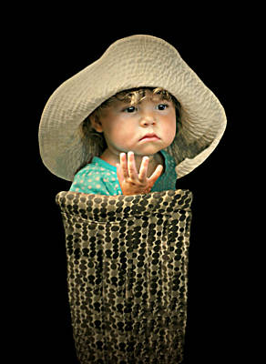Photograph - The Bucket Kid by Diana Angstadt