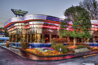 Photograph - The Buckhead Diner Atlanta Buckhead Art by Reid Callaway