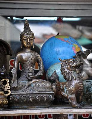Photograph - The Buddha's World  by Matt MacMillan