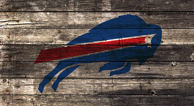 The Buffalo Bills W1 Art Print