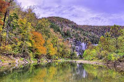 Photograph - The Buffalo River by JC Findley
