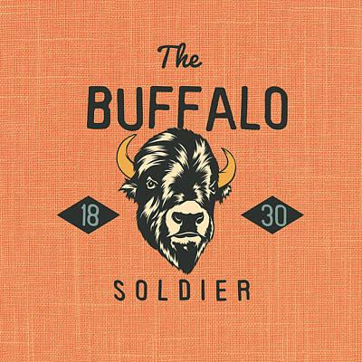 Buffalo Soldier V1 Art Print