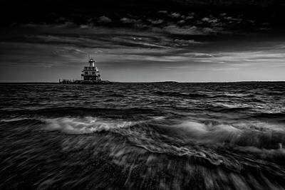 Long Island Photograph - The Bug Light, Greenport Ny by Rick Berk