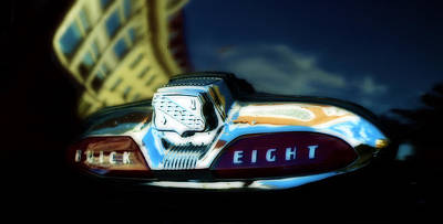 Antique Automobiles Photograph - The Buick Eight  by Steven Digman