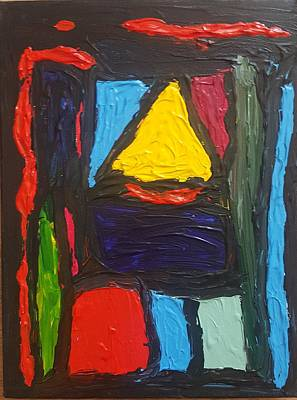 Painting - The Building Blocks Of Equation  by Darrell Black