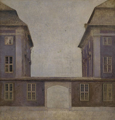 Painting - The Buildings Of The Asiatic Company by Vilhelm Hammershoi