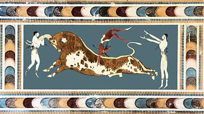 Painting - The Bull Of Knossos by Unknown