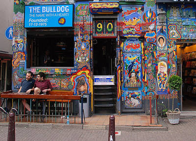 Photograph - The Bulldog Of Amsterdam by Allen Beatty