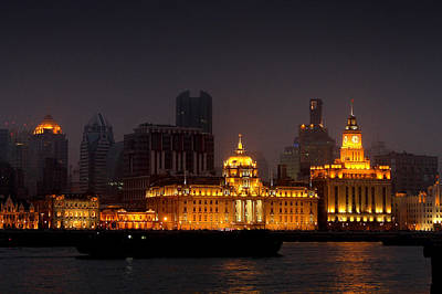 The Bund - More Than Shanghai's Most Beautiful Landmark Art Print by Christine Till