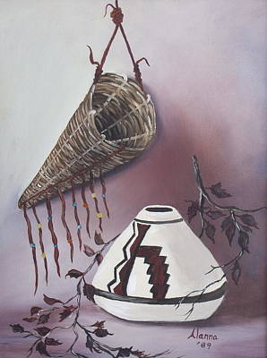 Painting - The Burden Basket by Alanna Hug-McAnnally