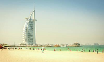 Photograph - The Burj Al Arab by Andrew Matwijec