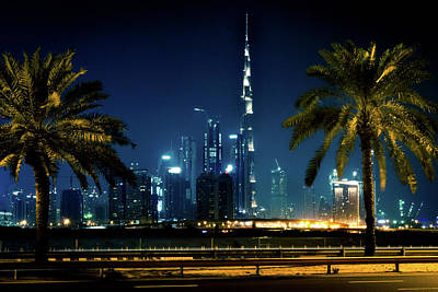 Photograph - The Burj Khalifa  by Andrew Matwijec