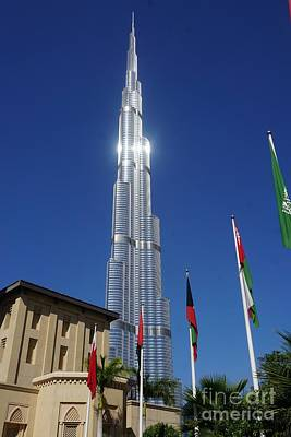 Photograph - The Burj Khalifa by Jimmy Clark